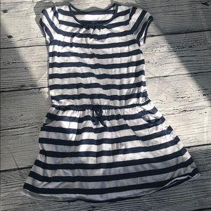 Land's End Striped Dress - 7